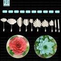 Gelatina Jello 3D Herramientas de La Torta 10 unids/set nuevo Increíble Arte Herramientas Gracilaria Jalea herramientas de arte para puding