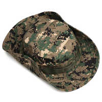 Unisex Multicam Tactical Airsoft Sniper Camouflage Bucket Boonie Hats Nepalese Cap SWAT Army Panama Military Accessories Summer