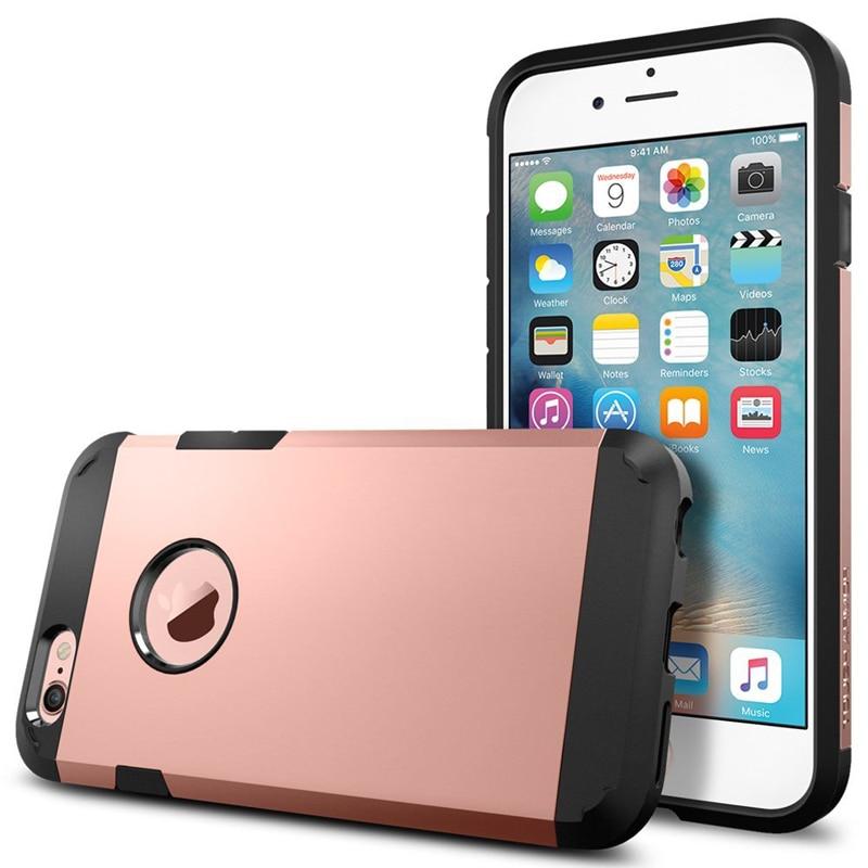 Armor tough case cajas del teléfono para iphone 6 plus 6s cubierta iphone 6 plus