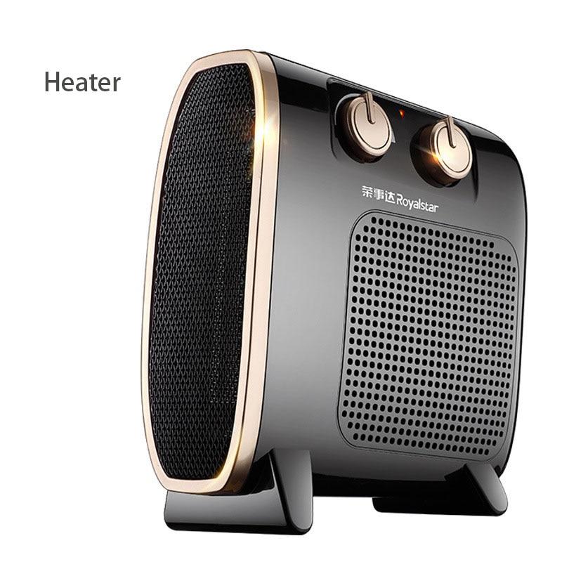 Mini Desktop Electric Heaters Adjustable Thermostat Warm