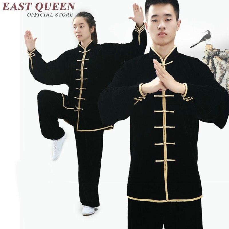 Tai chi uniforme tai chi vêtements kung fu uniforme kung fu vêtements femmes hommes AA2885 Y