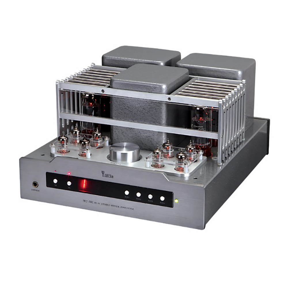 YAQIN MS-30L EL34 Integrated push pull Vacuum Tube Amplifier HIFI Amplifier with Headphone Output Remote Control yaqin t 6p3p tube amplifier 6p3p hifi exquis integrated amplifier with headphone output