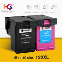 122XL Refilled Ink Cartridge Replacement for HP 122 for Deskjet 1000 1050 2000 2050s 3000 3050A 3052A 3054 1010 1510 2540