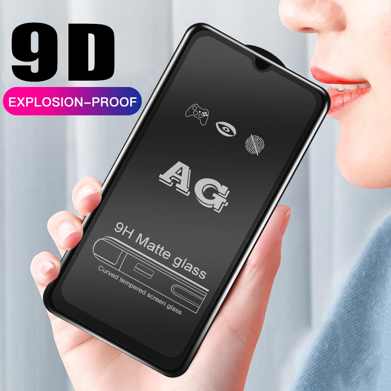 9D Matte Screen Protector Tempered Glass Film for Samsung Galaxy 5