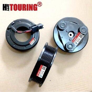 Embreagem do compressor ac carro para Ford galaxy C-max foco mondeo S-max 1712521 1671720 1780093 AV6119D629DA AV6119D629DB AV6N19D629BA