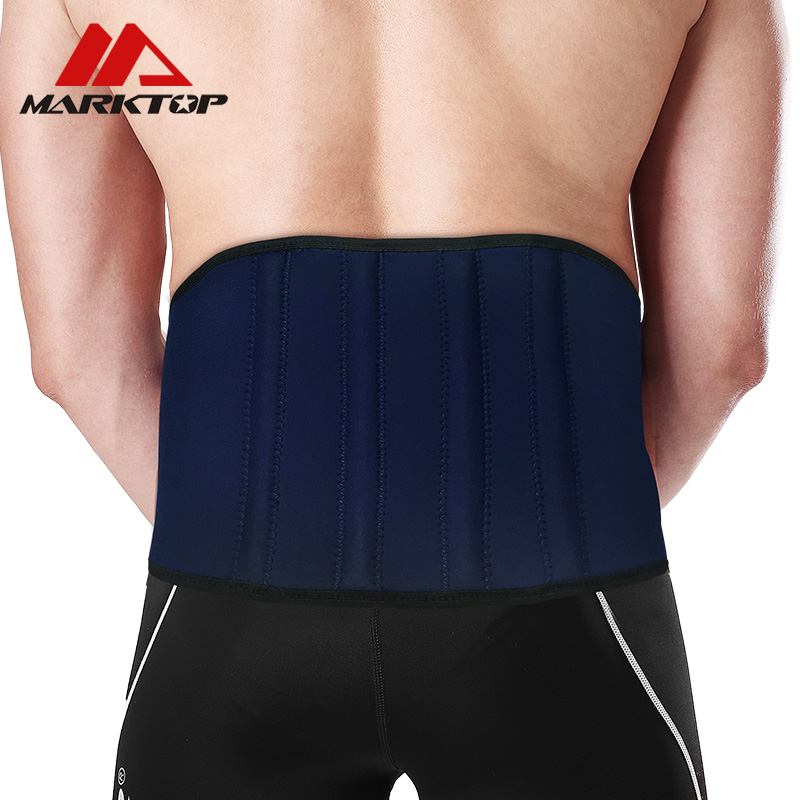 Sport Breathable Adjustable Waist Support Waist Back Belt Support Lumbar Band Protective Gear Spine Support Belt in Waist Support from Sports Entertainment
