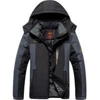 Winter Ski Jacket Men Waterproof Fleece Snow Jacket Thermal Coat For Outdoor Mountain Skiing Snowboard Jacket Plus Size L 9XL