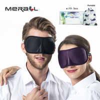 3D Ultra-weiche atmungsaktive stoff Eyeshade Schlafen Augen Maske Tragbare Reise Schlaf Rest Hilfe Auge Maske Abdeckung Augenklappe schlaf maske