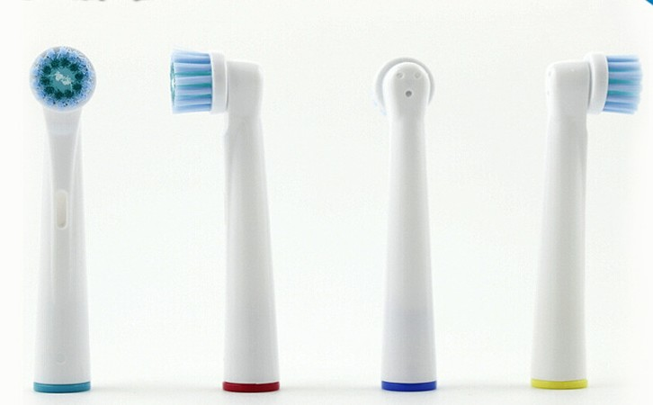 1205 4pcs/pack EB-17C Tsmile Electric Toothbrush Heads EB-17C Precision Clean for Oral B with free shipping цена