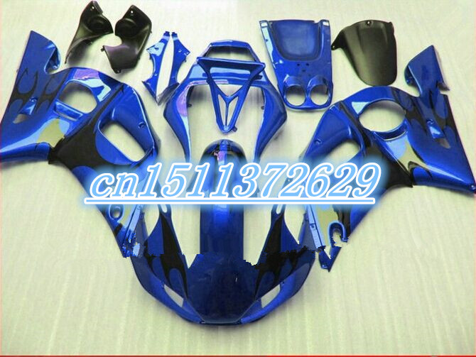 Обтекатели YZF R6 600 98 99 00 01 02 комплект обтекателей YZF R6 1998 2002 1998 1999 2000 2001 2002 для полного синий D
