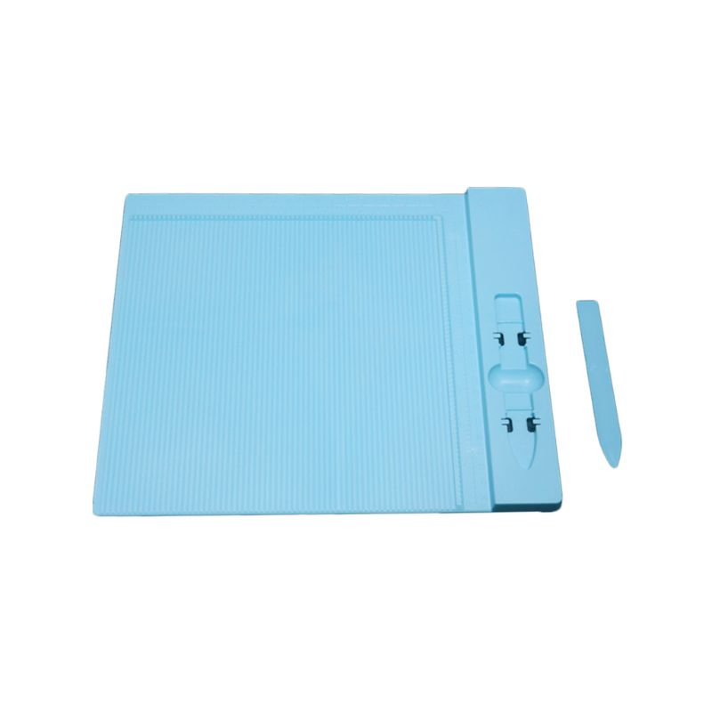 2020 Plastic score grooving board for scrapbooking paper craft card making envelope 27.5*23cm Folding Creasing craft tool