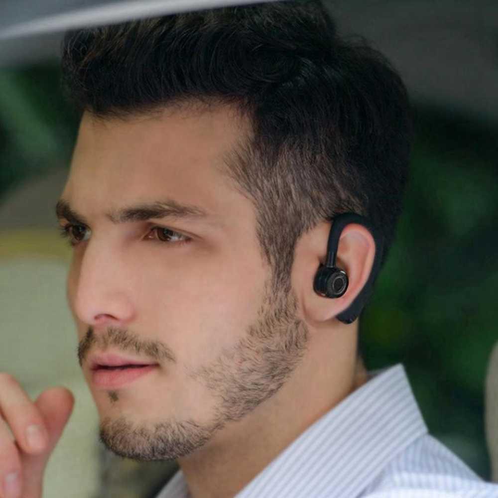 דיבורית Bluetooth אוזניות רכב אלחוטי Bluetooth אוזניות טלפון אוזניות אוזניות עם מיקרופון דיבורית אלחוטי אוזניות