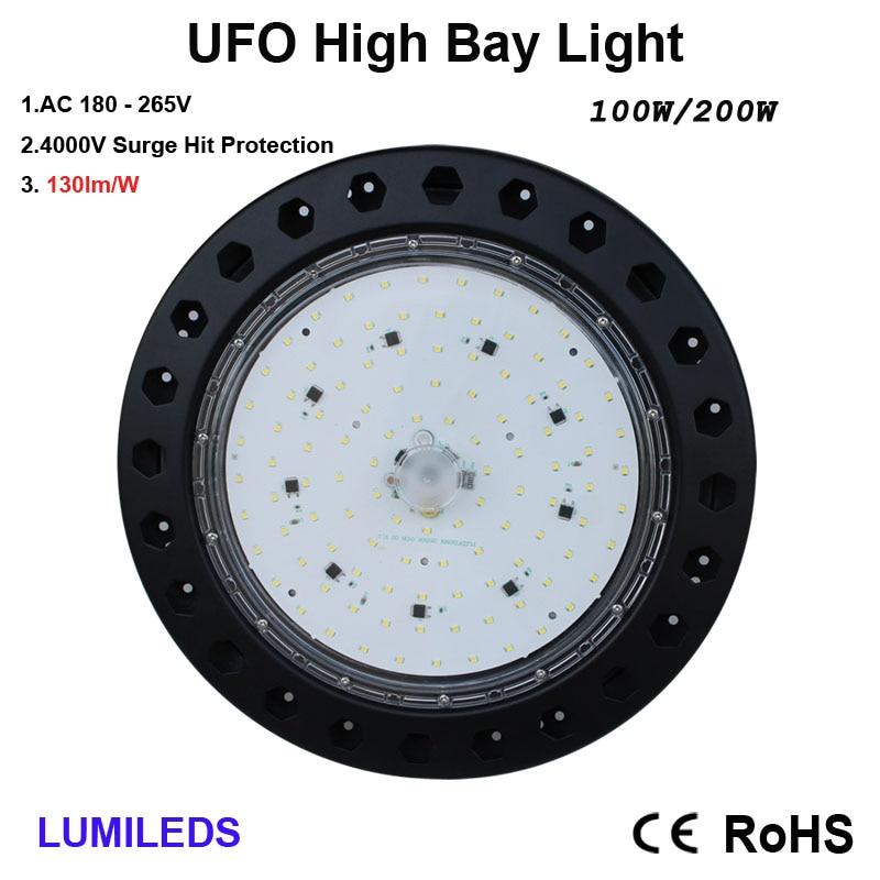 LED UFO High Bay Light, Ultra Bright, 100W