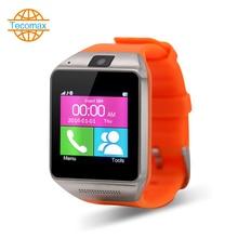 Kamera 0.3MP Armbanduhr Bluetooth Smart Uhr Sport Pedometer Mit SIM Kamera Smartwatch Für Android smartphone TC036