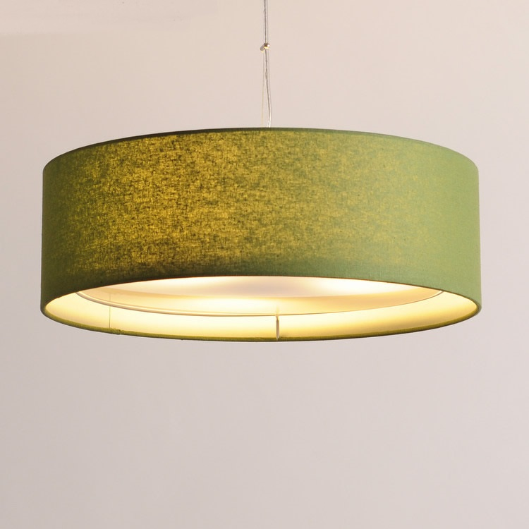 simple and creative style lamps  Chinese cloth pure fresh pendant lights dining room bedroom pendant lampand lanterns room lamp a1 master bedroom living room lamp crystal pendant lights dining room lamp european style dual use fashion pendant lamps
