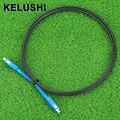 KELUSHI 2 M Cable de Bajada FTTH Fibra Óptica Patch Cord SC a SC Monomodo Simplex SC-SC 6.5Ft SM Fibra Óptica Puente Cable