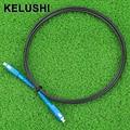 KELUSHI 2M FTTH Fiber Optic Drop Cable Patch Cord SC to SC Simplex Singlemode SC-SC 6.5Ft SM Fiber Optic Jumper Cable