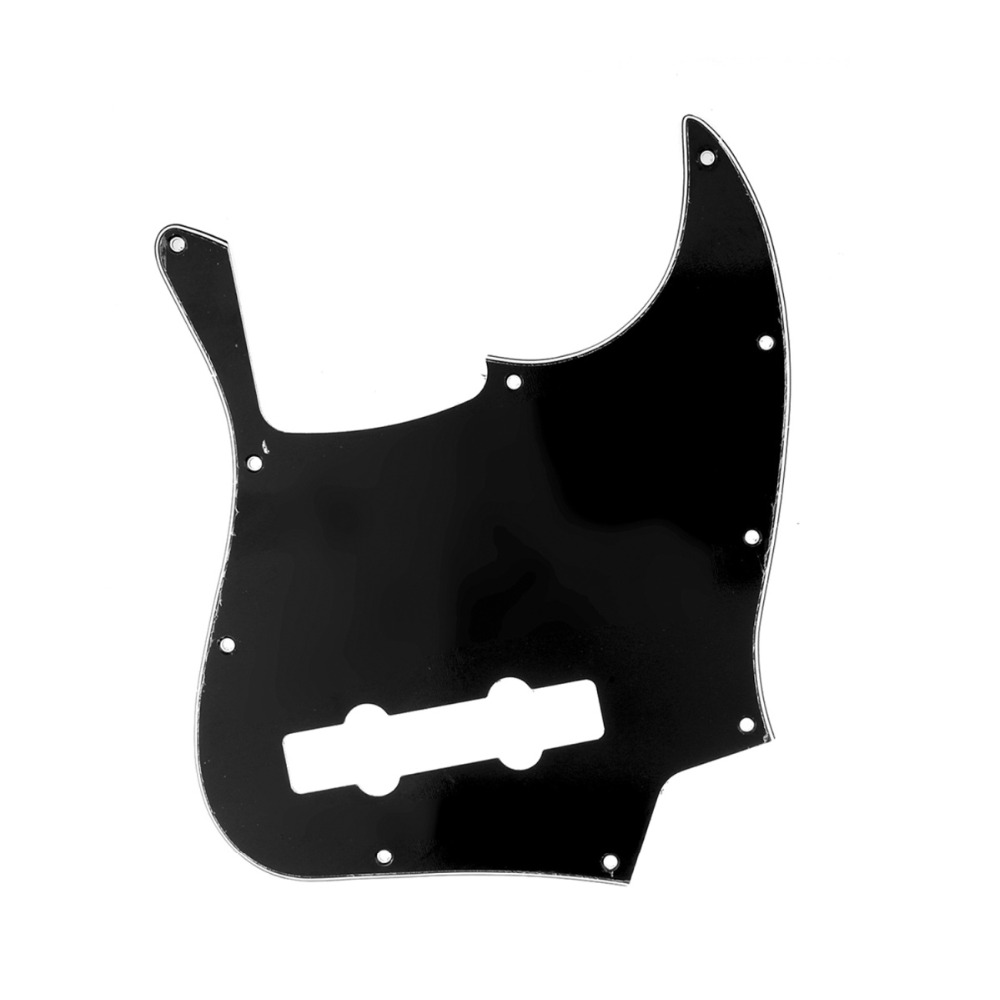 buy musiclily pro 10 hole contemporary j bass pickguard for fender jazz bass. Black Bedroom Furniture Sets. Home Design Ideas