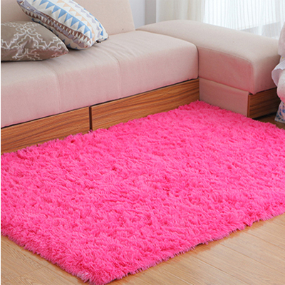Long Plush Area Rug Kids Bedroom 60*160CM Rugs And Carpets Silky ...