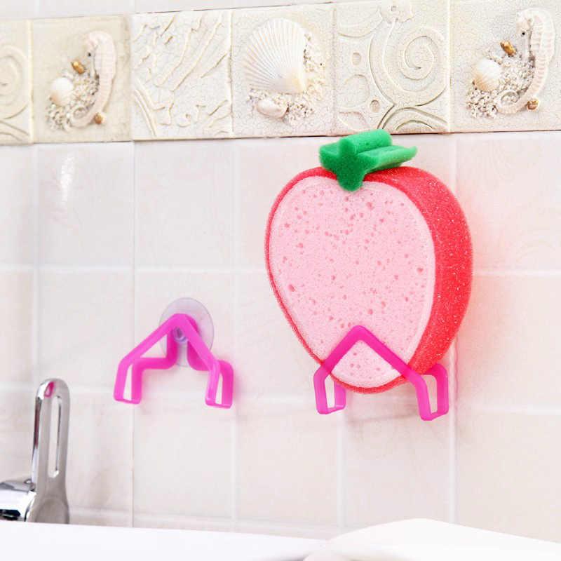 Ванная комната полки губка стеллаж для хранения одежды всасывания кухня чистке Держатель клип Rag полые сушилка мыло подвесные полки 8