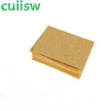 10 шт. сменные губки паяльник очиститель паяльный наконечник Чистящая подставка желтая губка для очистки