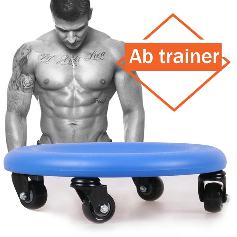 Plate multifunctional tray ab wheel abdominal wheel