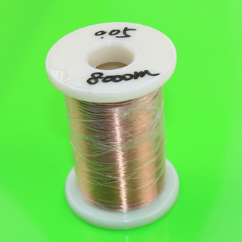 Cltgxdd 0 05mm 2000 m 4000 m 8000 m drut miedziany poliuretanowej emaliowany przewód Qa-1-155 0 05 Mm X 2000 metrów pc tanie i dobre opinie Stałe copper wire Enameled NONE