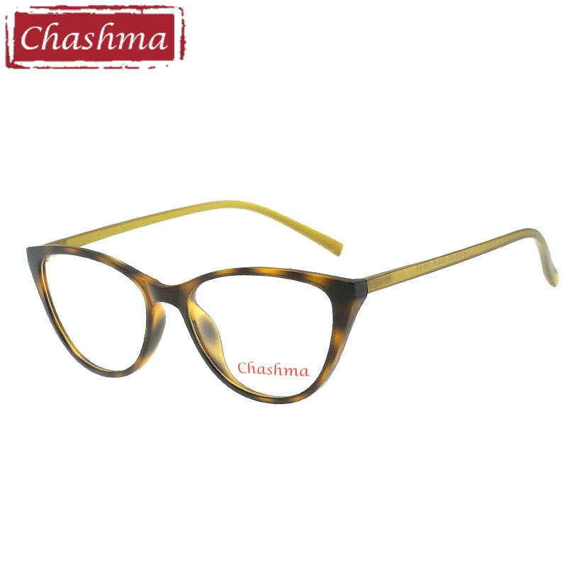 Chashma Prescription Glasses Alloy-Frames Cat-Eye-Tr Women Brand Light 90 Gafas Occhiali