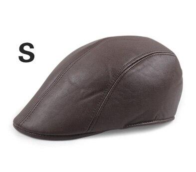 Английский стиль, однотонные весенне-зимние шапки для мужчин и женщин, модные уличные унисекс пляжные солнцезащитные шапки, новые повседневные мужские береты - Цвет: S