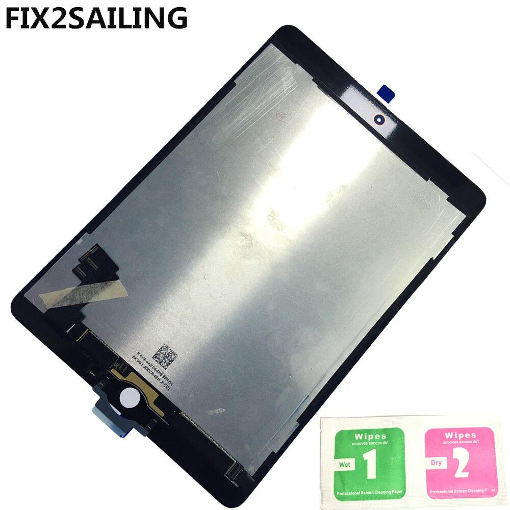 LCD A1567 Für Apple iPad 6 Air 2 A1567 A1566 9,7 ''100% New Grade LCD Display Touchscreen Digitizer Assembly ersatz