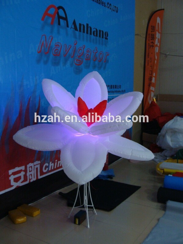 Lighted Inflatable Flowers for Wedding Decoration wedding inflatabe star inflatable lighted stars for party decoration