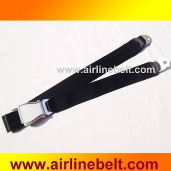 Cinturón de seguridad de avión de alta calidad hebilla cinturón de seguridad dos puntos cinturón de seguridad de coche envío gratis