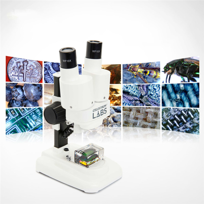 Microscope Binocular Portable Stereo microscope Electron microscope LED Lab High Magnifier digital biological Microscope Student