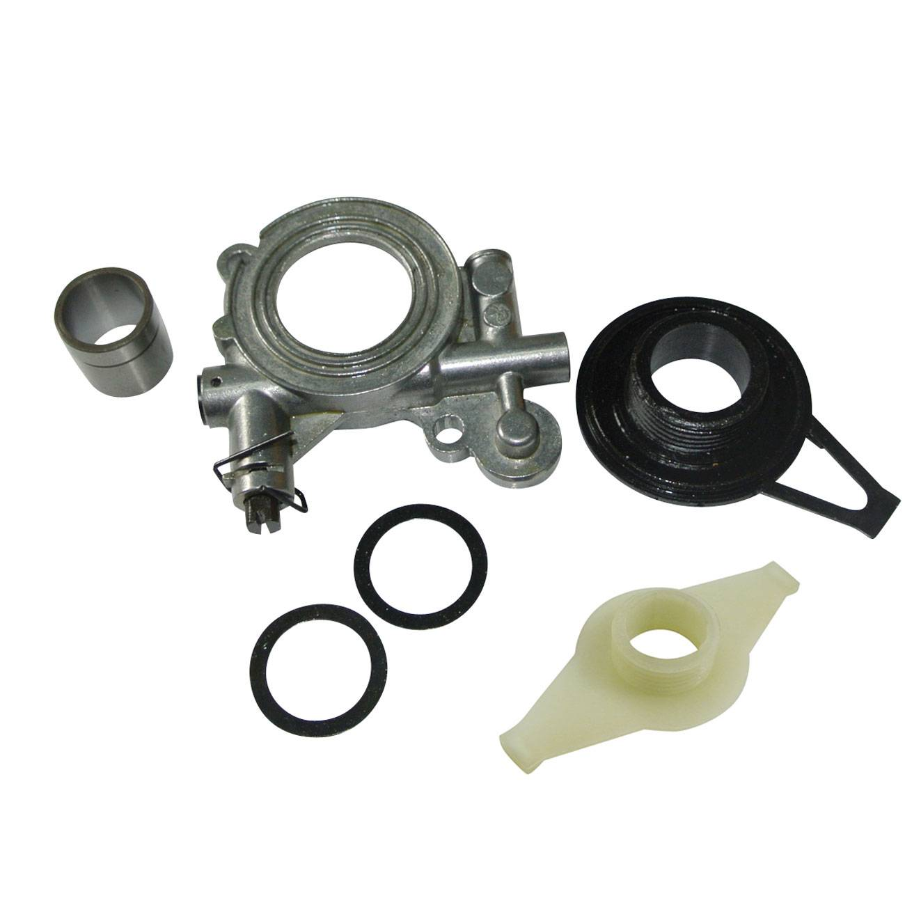 Oil Pump Kit & Worm Gear for Husqvarna Chainsaw 362 365 371 372 372XP 385 390 NEW цена