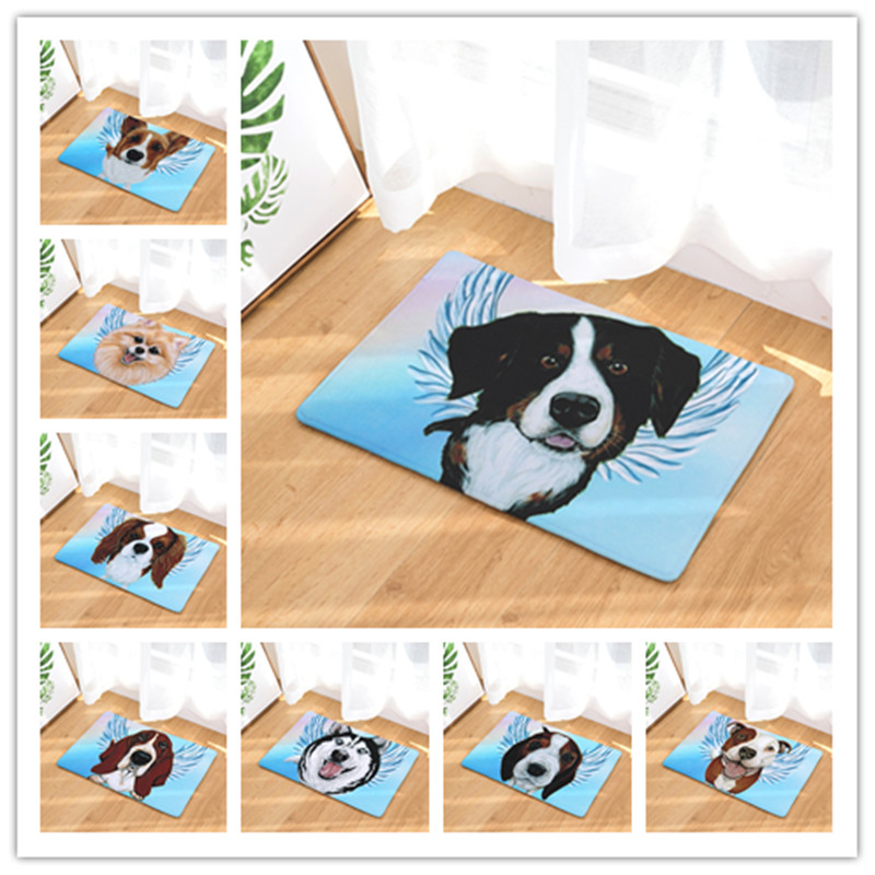 New Arrive Door Mats For Entrance Door Oil Dogs Pattern