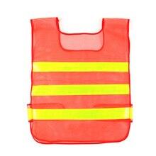 Высокая видимость светоотражающий жилет безопасности ночной Быстросохнущий светоотражающий сигнальный защитный жилет для строительства одежды