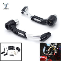 7/8CNC Motorcycle Proguard System Brake Clutch Levers Protect Guard For Ducati mts1000sds/ds MTS1000/S paul smart le s2r 1000