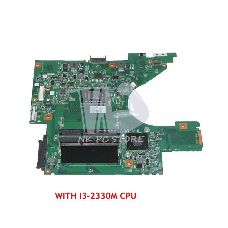 NOKOTION CN-08K8D1 08K8D1 8K8D1 For Dell Vostro V131 Laptop Motherboard 48.4IM02.011 13.3 inch SR04L I3-2330M CPU цена