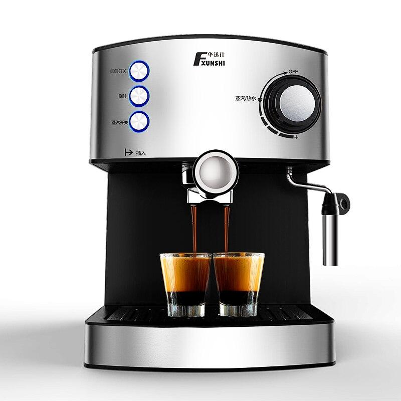Coffee Maker Pump Pressure : Espresso machine Semi Automatic Espresso Coffee maker Pump pressure Coffee machine 15pa 220V ...