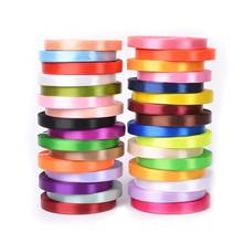 25Yards/Roll Grosgrain Satin Ribbons for Wedding Christmas Party Decorations DIY Bow Craft Card Gifts Wrapping Supplies