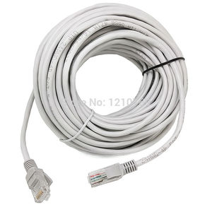 Image 3 - 16.4FT/5M RJ45 CAT5 CAT5E Ethernet Internet LAN Network Cord Cable Gray New Free Shipping
