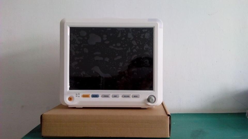 ICU Patient Monitor Multi Parameter ECG SPO2 NIBP Temperature YK-8000B