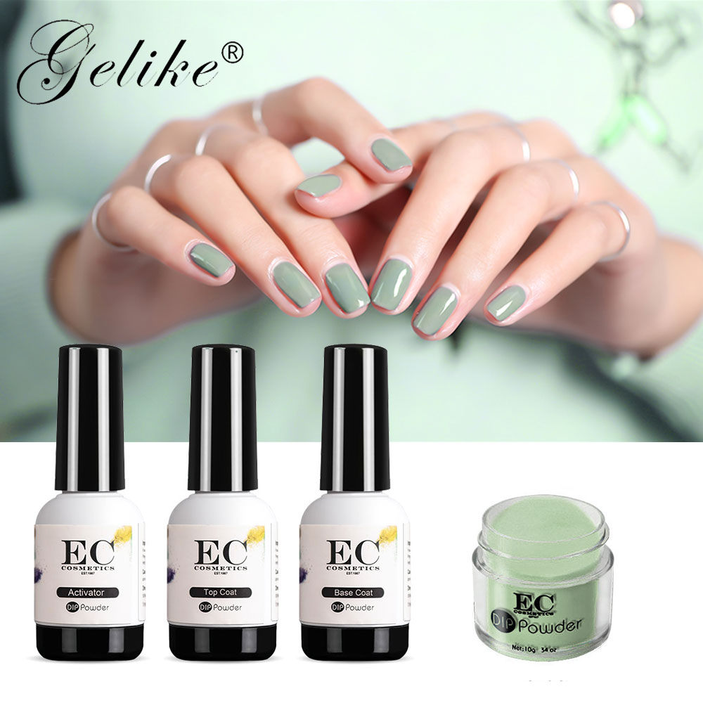Gelike Gel Nails Quick Dip Kit Polish Acrylic Manicure At