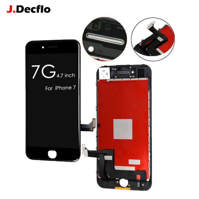 Excellent AAA+++ Quality LCD For iPhone 7 Display with 3D Touch Screen Digitizer Assembly LCD Replacement No Dead Pixel