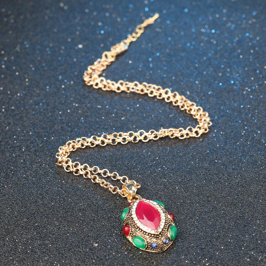 Tyrkiske smykker Nigerianske bryllup afrikanske perler Lucky Eye - Mode smykker - Foto 3