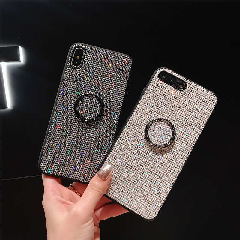 Bling Glitter <font><b>Rhinestone</b></font> Diamond <font><b>Case</b></font> for <font><b>Huawei</b></font> P20 Lite P10 Plus Mate 10 <font><b>20</b></font> <font><b>Pro</b></font> P Smart Honor 8X 9i 10 Play Nova 2S 3 3i 3e 4 image