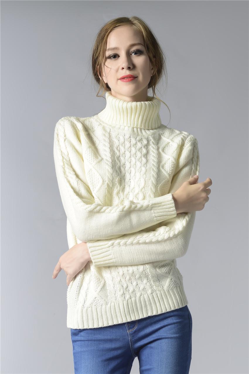 HTB1GY2ZSpXXXXaDapXXq6xXFXXXi - FREE SHIPPING ! Sweater Long Sleeve Turtleneck JKP196