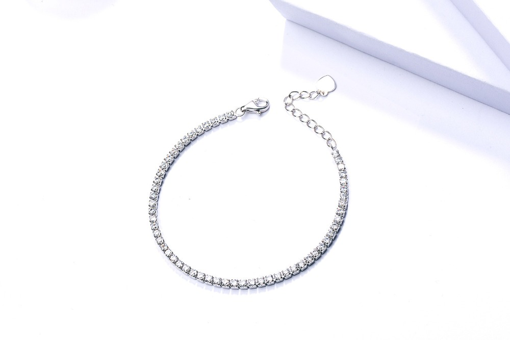 fashion jewelry lucky sliver bracelet beautiful bracelet for couple woman PD04