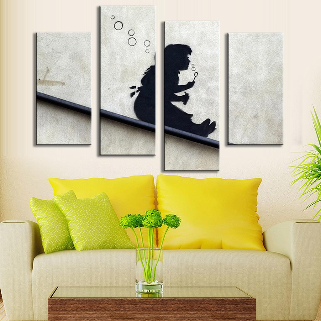 Comfortable Bansky Wall Art Gallery - The Wall Art Decorations ...