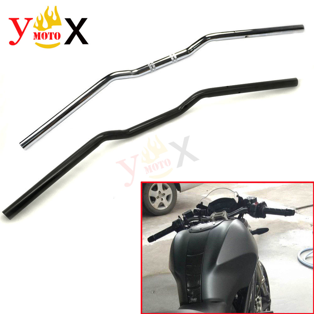 Motorcycle Black 22MM 7/8 Drag Handlebar Hand Bar For Geniune Ducati Monster 696 Multistrada 620 1200 795 796 821 S2R S4R S4RSMotorcycle Black 22MM 7/8 Drag Handlebar Hand Bar For Geniune Ducati Monster 696 Multistrada 620 1200 795 796 821 S2R S4R S4RS